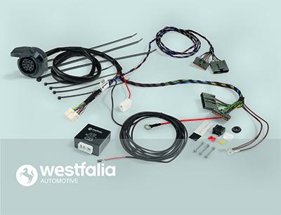 Комплект электрики, прицепное оборудование